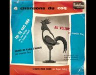 1959- Coq d'or chanson Francaise- Barclay 70258